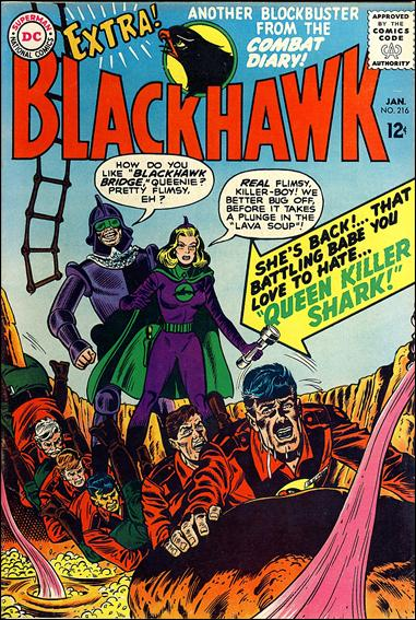 Blackhawk (1944) 216-A by DC