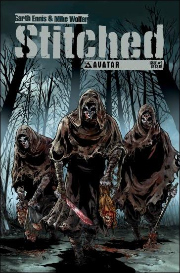 Stitched 9-A by Avatar Press