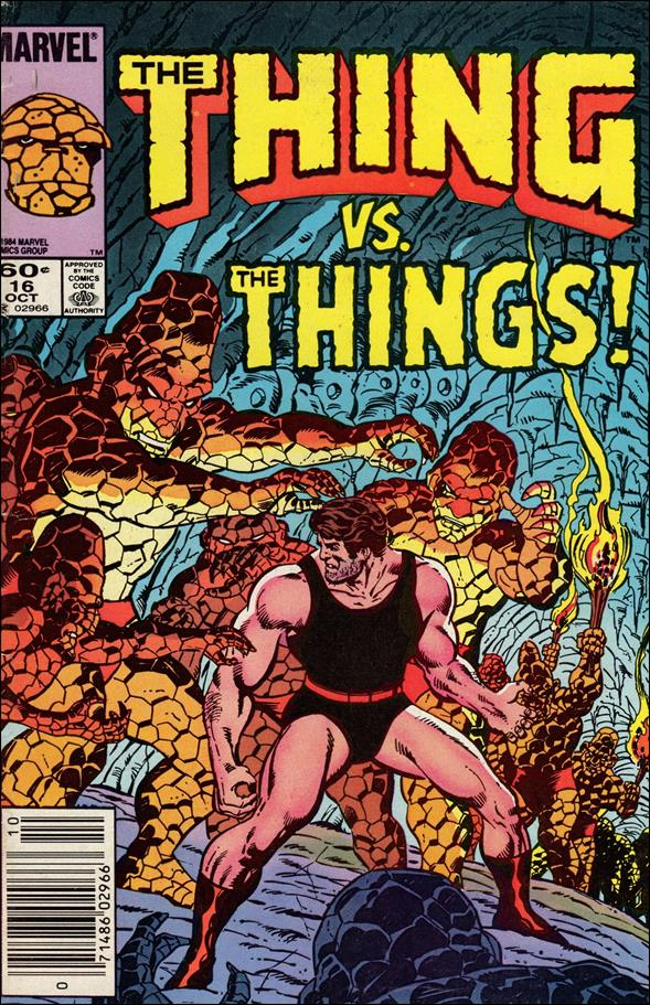 Thing (1983) 16-A by Marvel