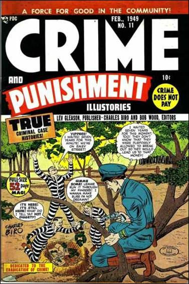 Crime and Punishment 11-A by Lev Gleason Productions