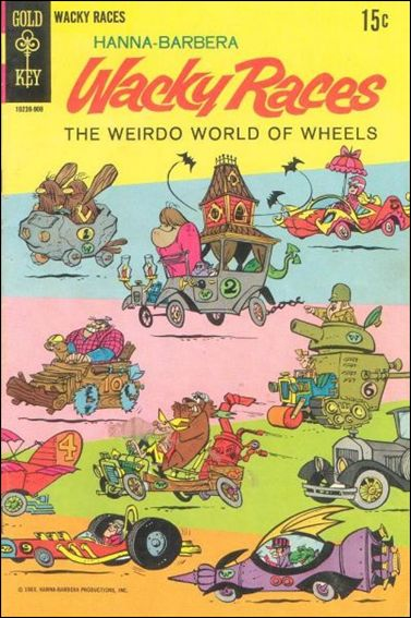 Wacky Races 1-A by Gold Key