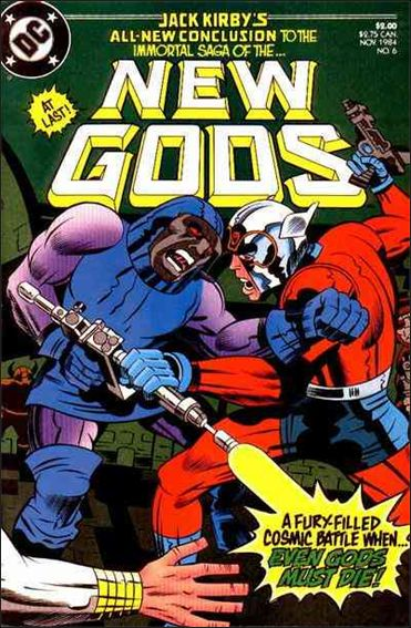 New Gods (1984) 6-A by DC