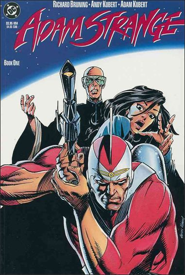 Adam Strange (1990) 1-A by DC