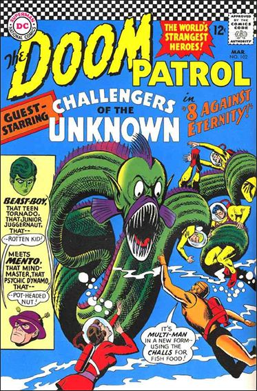 Doom Patrol (1964) 102-A by DC