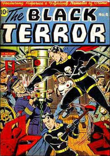 Black Terror (1942) 4-A by Nedor