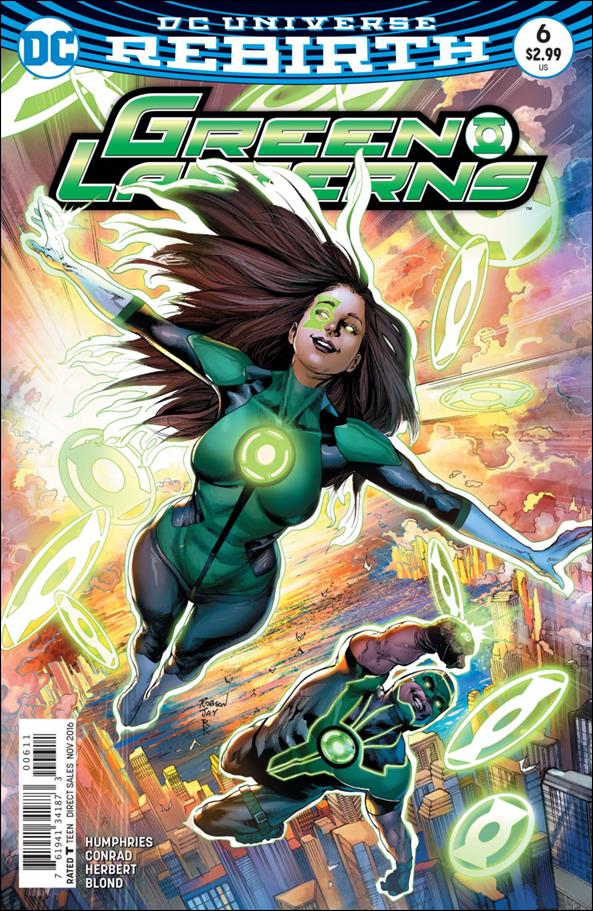 Green Lanterns 6-A by DC