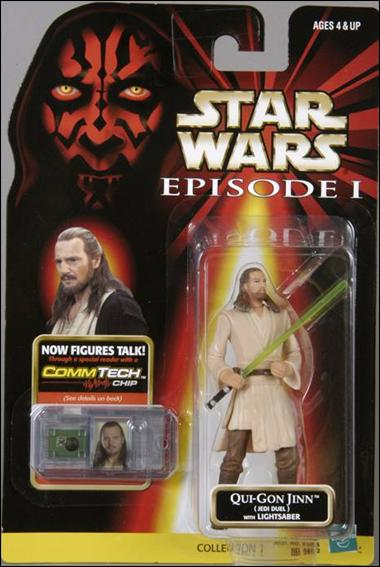 Star Wars: Episode I 3 3/4&quot; Basic Action Figures Qui-Gon Jinn (Jedi Duel) (No Logos) by Hasbro