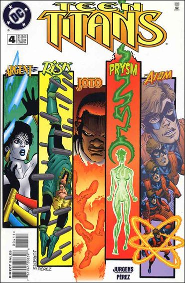 Teen Titans (1996) 4-A by DC