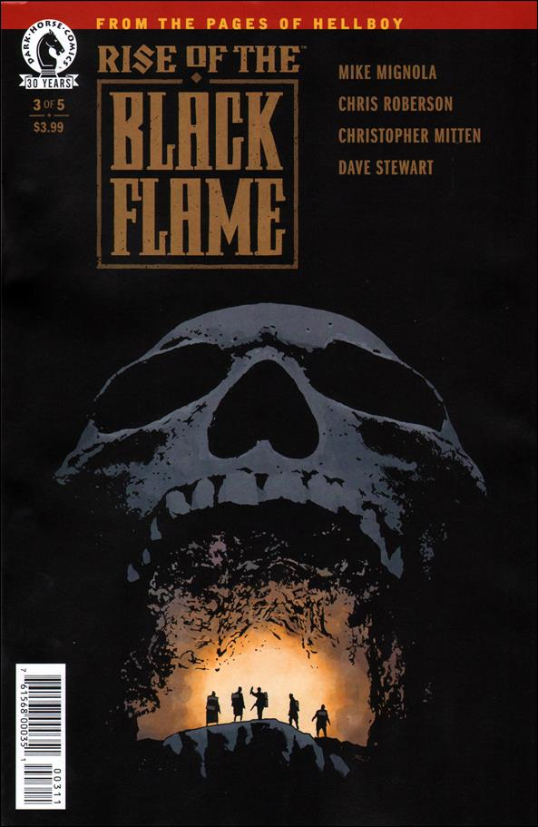 Rise of the Black Flame 3-A by Dark Horse