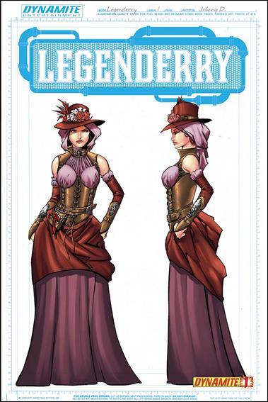 Legenderry: A Steampunk Adventure 1-B by Dynamite Entertainment