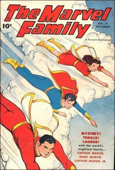 Marvel Family 17-A by Fawcett
