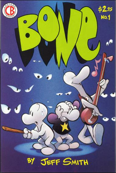 Bone (1991) 1-B by Cartoon Books
