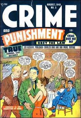Crime and Punishment 5-A by Lev Gleason Productions