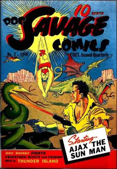 Doc Savage Comics (1940) 2-A by Street and Smith Publications