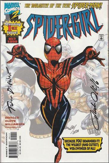 Spider-Girl (1998) 1-B by Marvel