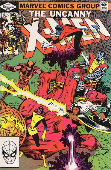 Uncanny X-Men (1981) 160-A by Marvel