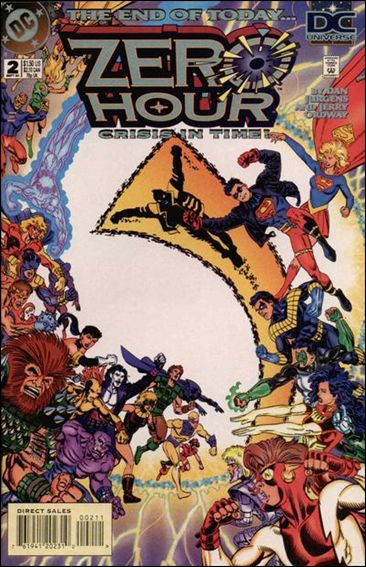 Zero Hour: Crisis in Time 2-A by DC