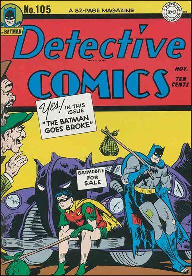 Detective Comics (1937) 105-A by DC