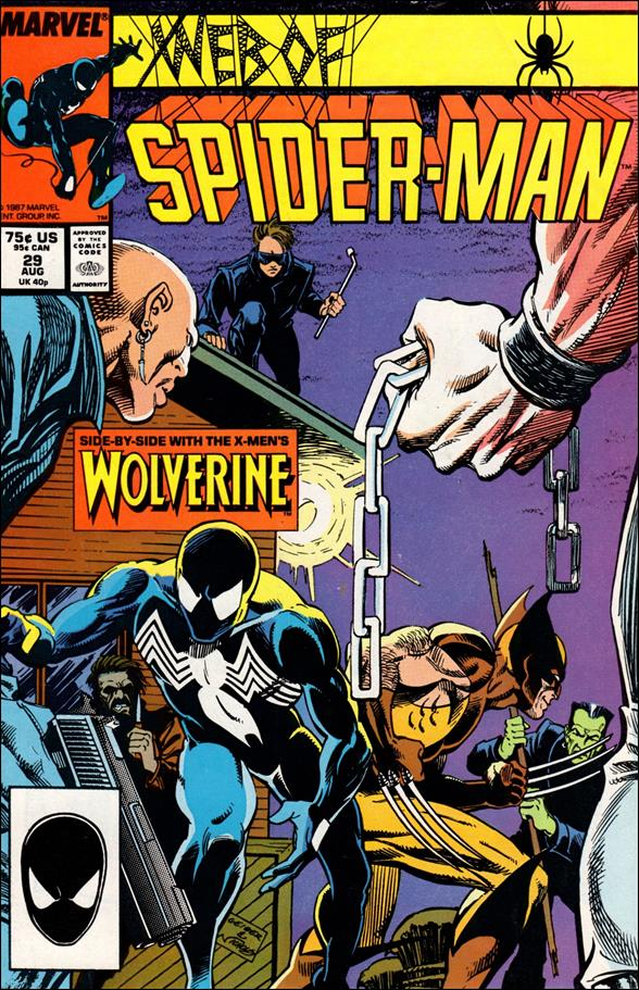 Web of Spider-Man (1985) 29-A by Marvel