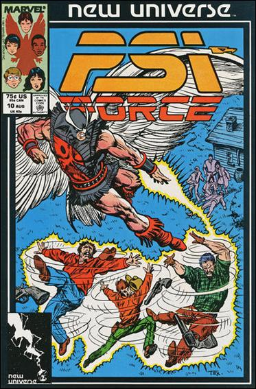 Psi-Force 10-A by Marvel
