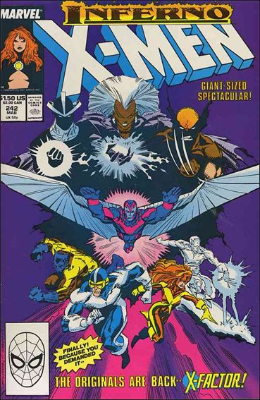 Uncanny X-Men (1981) 242-A by Marvel