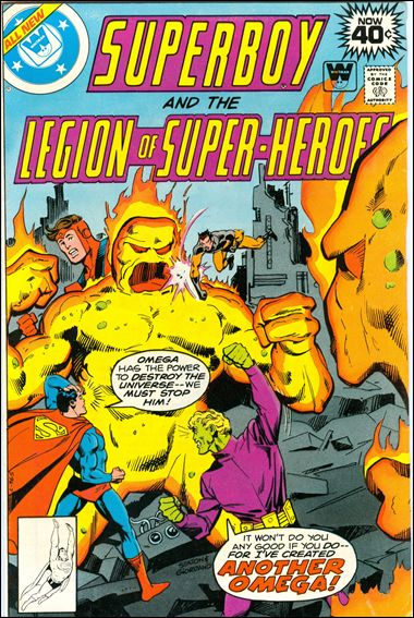 Superboy and the Legion of Super-Heroes 251-B by DC