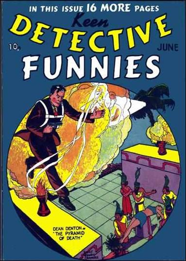 Keen Detective Funnies (1939) 6-A by Centaur Publications Inc.