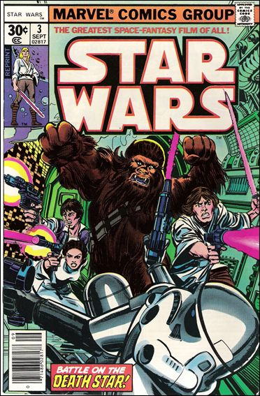 Star Wars (1977) 3-E by Marvel