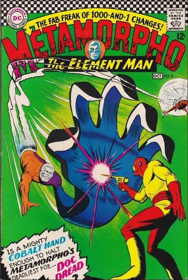 Metamorpho (1965) 8-A by DC