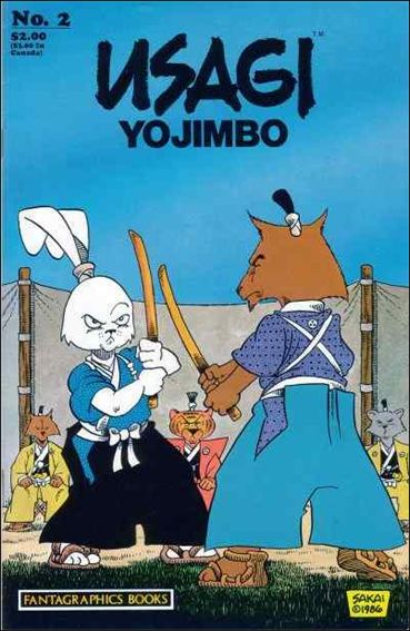 Usagi Yojimbo (1987) 2-A by Fantagraphics