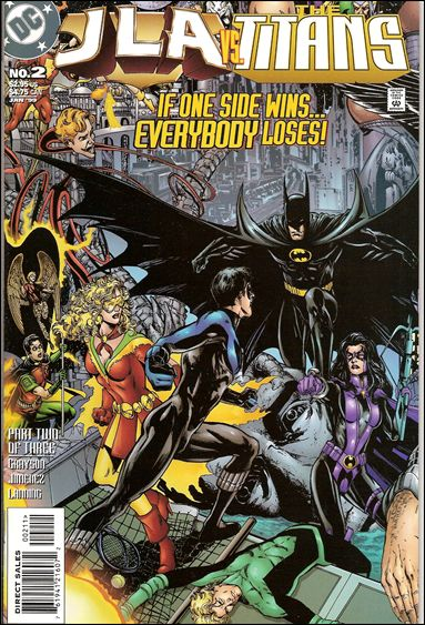 JLA/Titans 2-A by DC