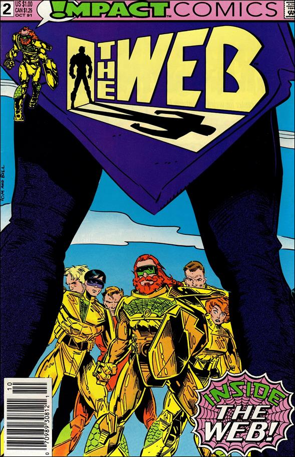 Web (1991) 2-A by Impact Comics