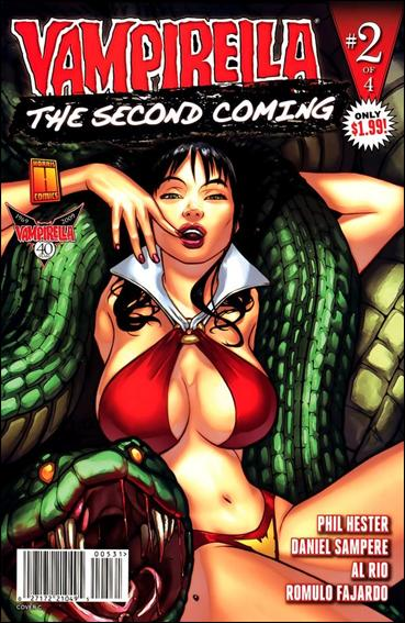 Vampirella: Second Coming 2-C by Harris