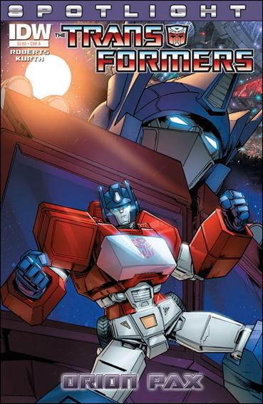 Transformers Spotlight: Orion Pax nn-A by IDW