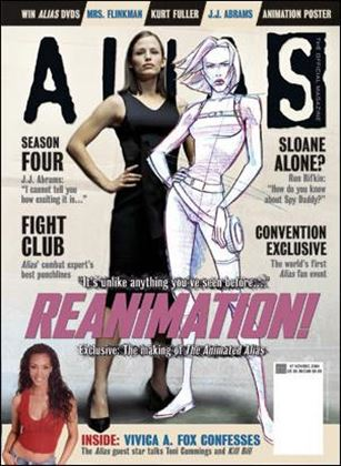 Alias: The Official Magazine 7-A
