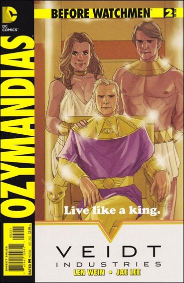 Before Watchmen: Ozymandias 2-D by DC