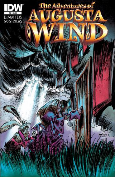 Adventures of Augusta Wind 2-A by IDW