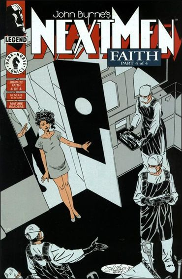 John Byrne's Next Men (1992) 22-A by Dark Horse