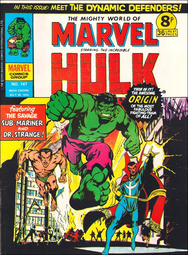 Mighty World of Marvel (UK) (1972) 147-A by Marvel UK