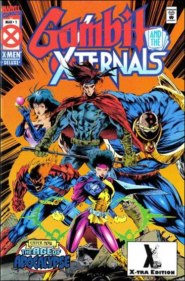 Gambit & the X-Ternals 1-B by Marvel