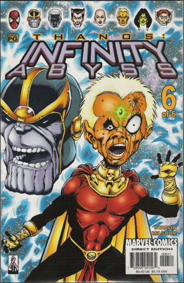 Infinity Abyss 6-A by Marvel