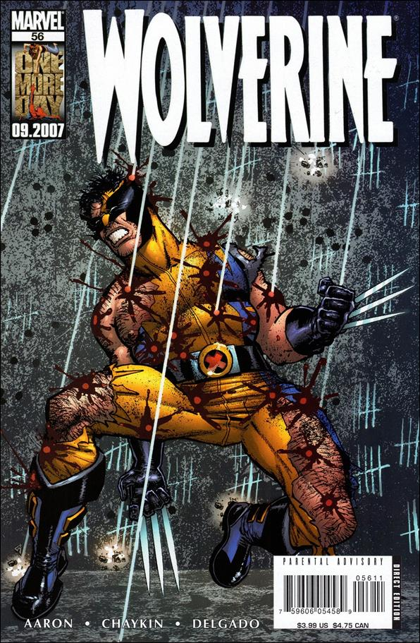Wolverine (2003)  56-A by Marvel
