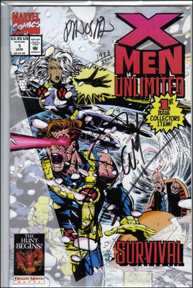 X-Men Unlimited (1993) 1-B by Marvel