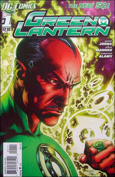Green Lantern (2011) 1-E by DC