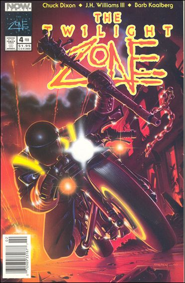 Twilight Zone (1991) 4-A by Now Comics