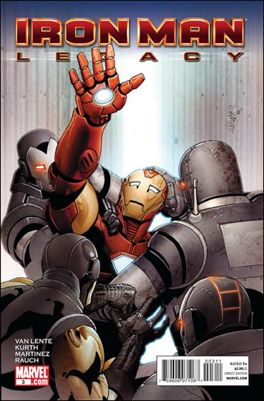 Iron Man Legacy 3-A by Marvel