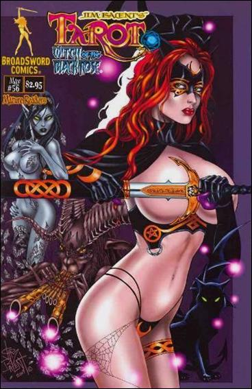 Tarot: Witch of the Black Rose 56-A by BroadSword Comics