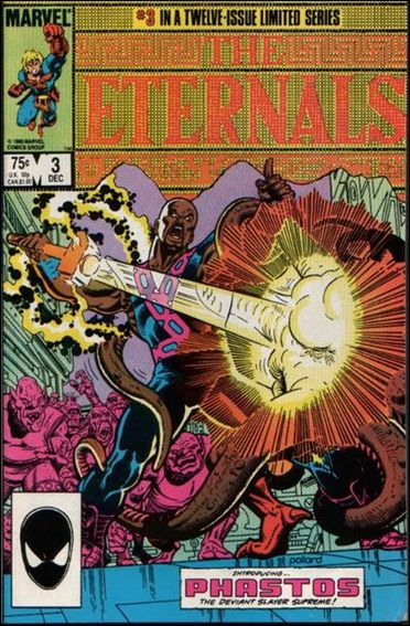 Eternals (1985) 3-A by Marvel