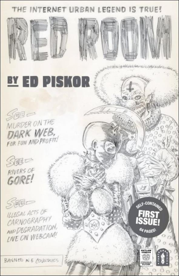 Red Room: The Antisocial Network 1-E by Fantagraphics