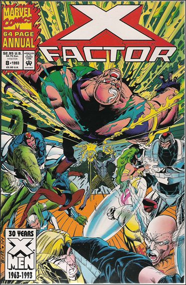 X-Factor Annual 8-B by Marvel